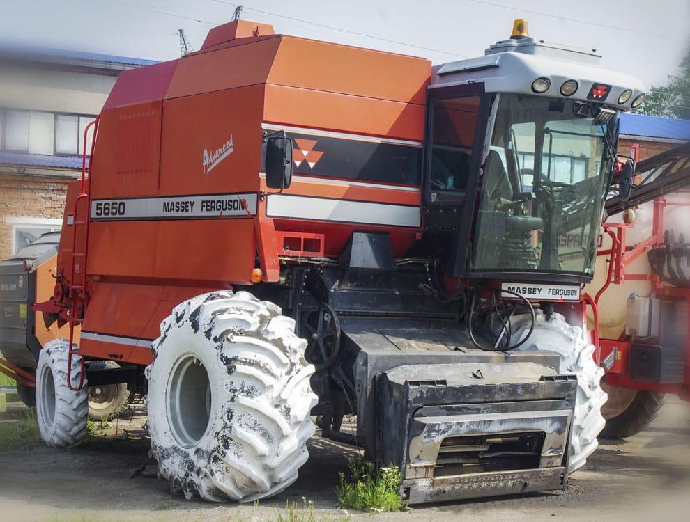 MF 5650 ADVANCED Зерноуборочный комбайн