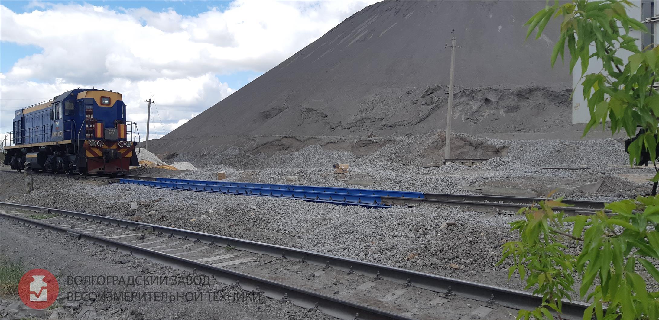 Железнодорожные весы БАМ повагонного и потележечно
