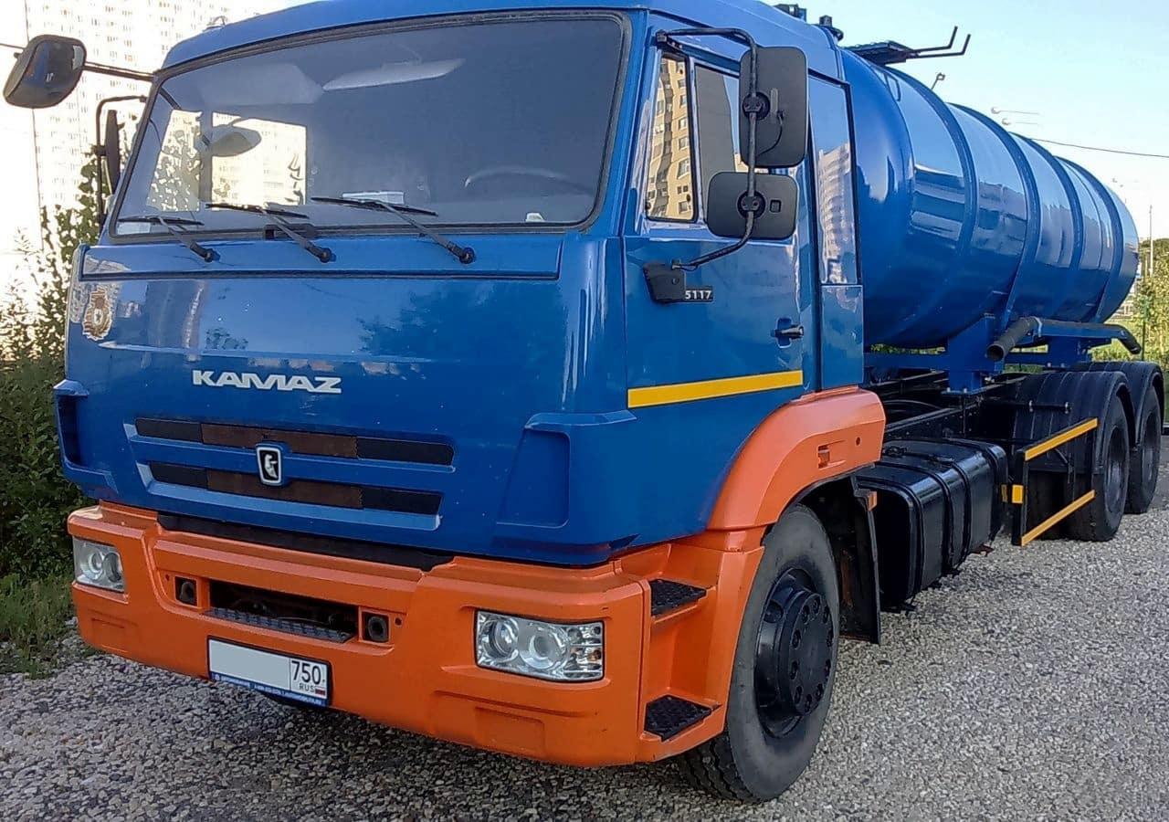 Камаз Ассенизатор КО-505б
