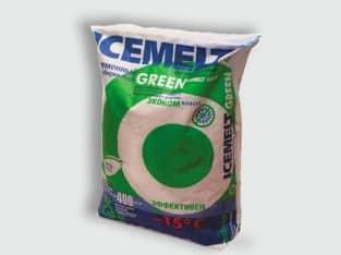 Противогололедный реагент Icemelt Green в мешках