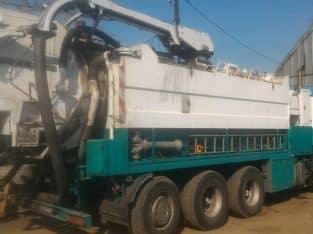 Каналопромывочная машина Scania